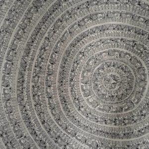 The Vortex Madhubani Painting