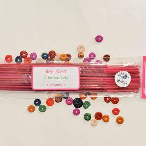 Red Rose Incense 50 Sticks