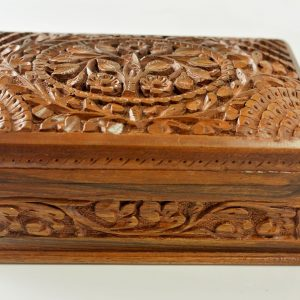 Hand Carved Kashmir Wooden Box