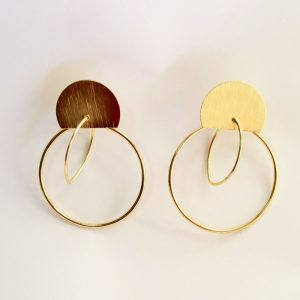 Hoop in Hoop Golden Earring