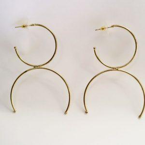Half Rings Earring