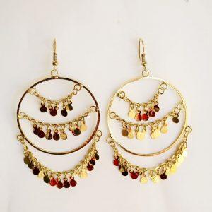 Golden Gypsy Earring